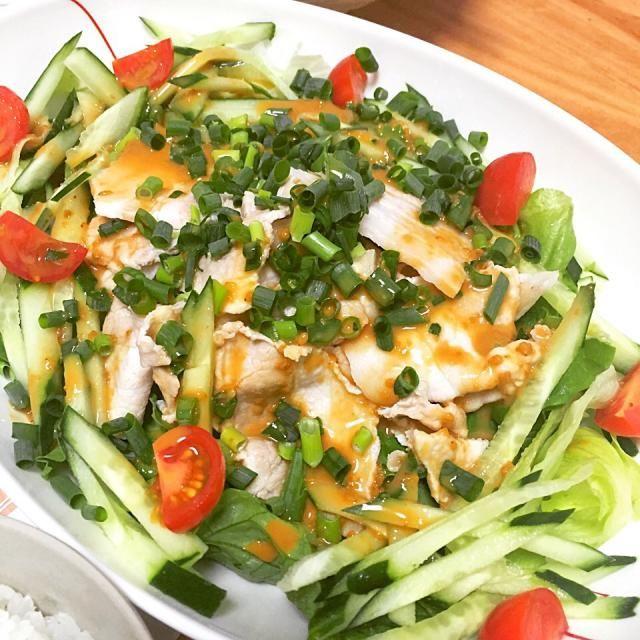 野菜も肉もおもいっきり食べたい日に - 11件のもぐもぐ - 冷しゃぶ by fb8477145817823