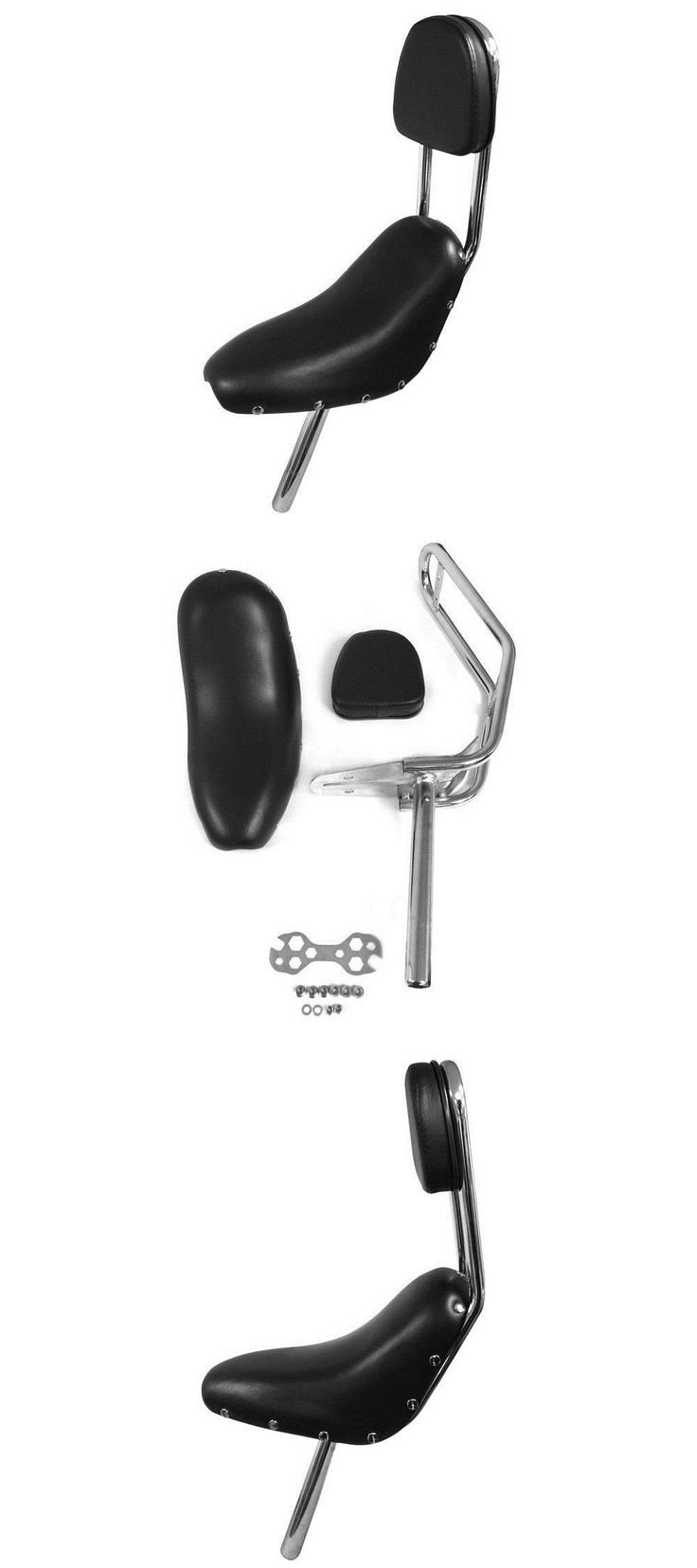 Other Bike Components and Parts 57267: Chopper Seat For A 48Cc/ 66Cc Motorized Cruiser Chopper Bicycle -> BUY IT NOW ONLY: $58.99 on eBay!