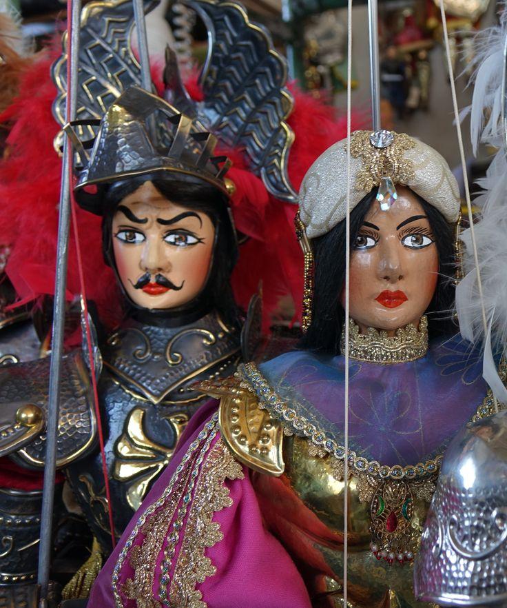 Orlando and Angelica, Pupi Siciliani - Sicilian Puppets