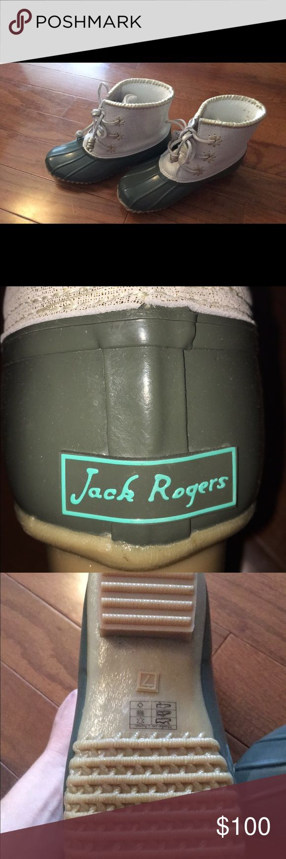 Brand New Jack Rogers duck boots Brand new Jack Rogers Shoes Winter & Rain Boots