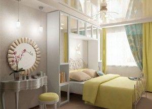Дизайн и интерьер спальни в хрущевке