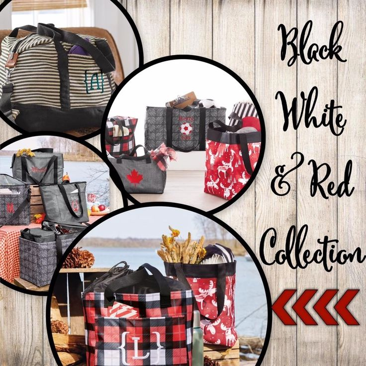 Black White & Red Thirty-One Fall 2017 Patterns #TOTEallyAddicted www.TOTEallyAddicted.com #ThirtyOne #ThirtyOneFall2017
