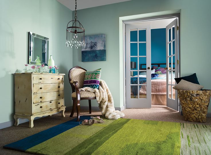 Color Always Sets The Mood Soft Green Creates A Peaceful