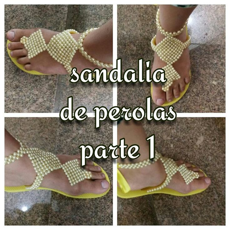 PARTE 1 SANDÁLIA DE PEROLAS