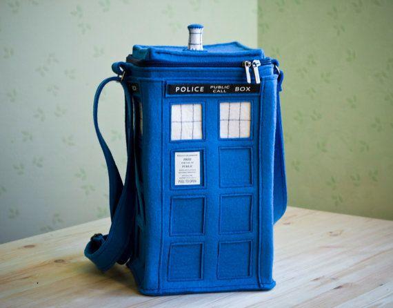 Oh..my....YES!: Felt Bags, Doctorwho, Felt Pur, Felt Tardis, Doctors Who Tardis, Lunches Boxes, Tardis Bags, Dr. Who, Tardis Pur