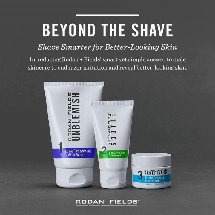 Beyond the Shave Regimen is Here!! Beyond The Shave male skincare is clinically proven & curated by Dr. Katie Rodan and Dr. Kathy Fields to work on a man's face. It's a smart, and simple approach to end razor burn and reveal a better looking you. Are you ready to go Beyond The Shave? 95% of men in clinical study noticed an improvement in sensitivity of shaving, reduced razor burn, & improvement in skin. #realmenuserf