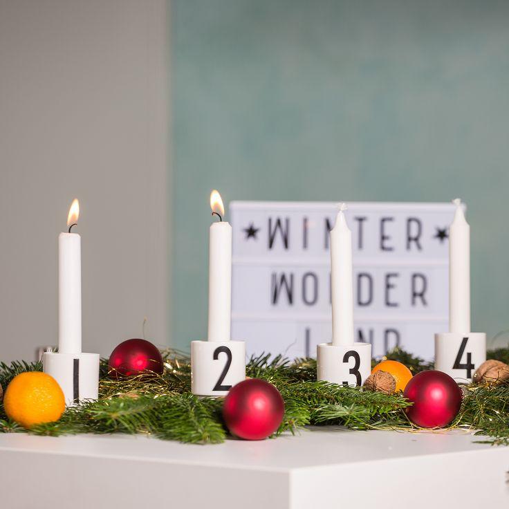 Winter Wonder Land Inspirierende Sprüche für die Weihnachtszeit. Schmücke Deine Wohnung mit Light Box, Letter Board oder Message Board für die Adventszeit.