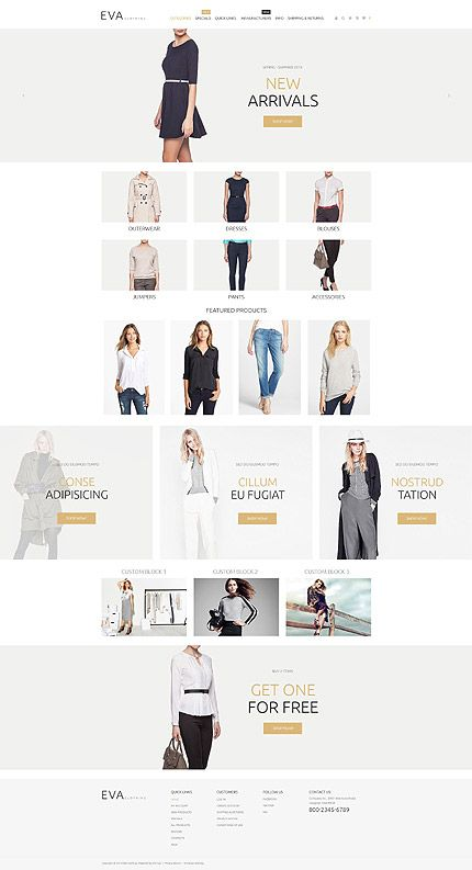 Mejores 44 imágenes de ZenCart templates en Pinterest   Plantilla ...