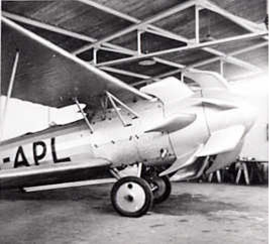 PH-APL was a Fokker C.1 with a specially designed propellor, an invention of Adriaan Dekker. Registered on 15.4.1937. It appears that the plane did lift off while making taxi runs at Ypenburg airfield (The Hague). Seized by the Germans on 18.5.1940.