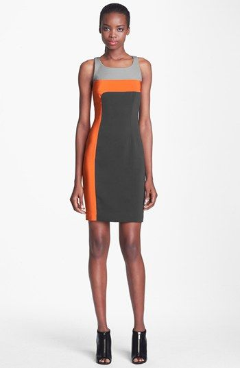 Jay Godfrey 'Dalton' Colorblock Sheath Dress available at #Nordstrom