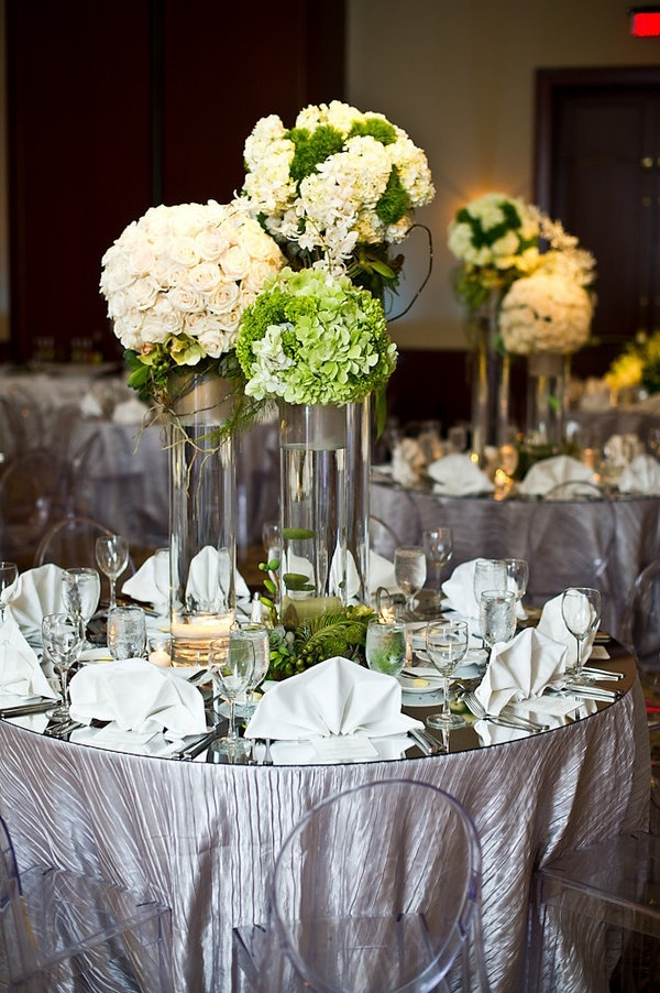 Table centerpieces wedding pinterest