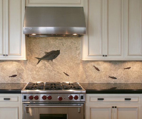 Kitchen Backsplash Rock: 285 Best Images About Tile + Stone In The Kitchen On