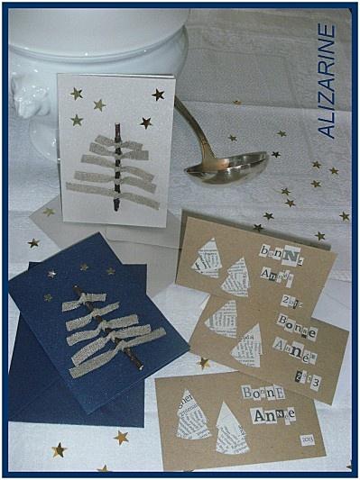 cartes de voeux 2013 - ALIZARINE
