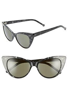 be4dc4f24c COLORS IN OPTICS Designer Audrey 54mm Cat Eye Sunglasses