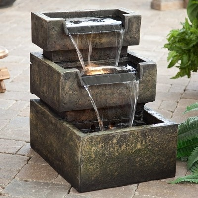 Inverness Indoor / Outdoor Garden Patio Water Fountain