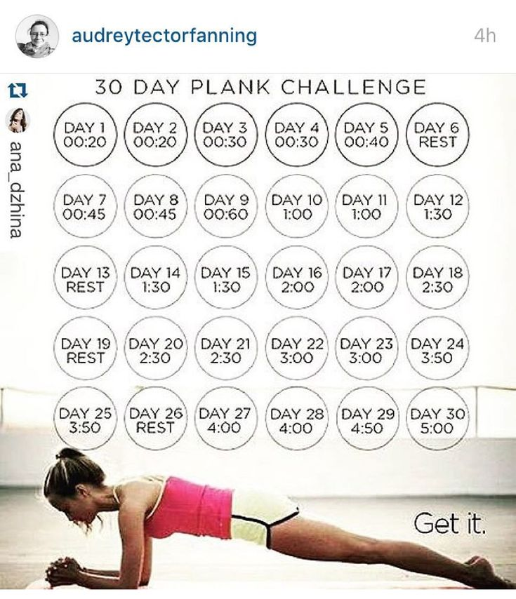 I am joining @audreytectorfanning in this November plank ...