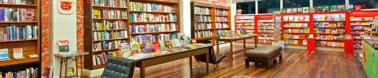 Metropolis Books; Lvl 3 Curtain House, Swanston St Melbourne CBD; 'Metropolis carries a specialist range of books focusing on the areas of art, graphic design, architecture, photography, fashion and textiles, popular culture, film, music and the performing arts'.