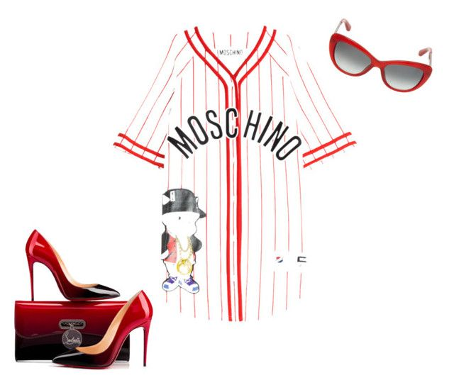 """""""MOSCHINO"""" by mybeautique on Polyvore"""