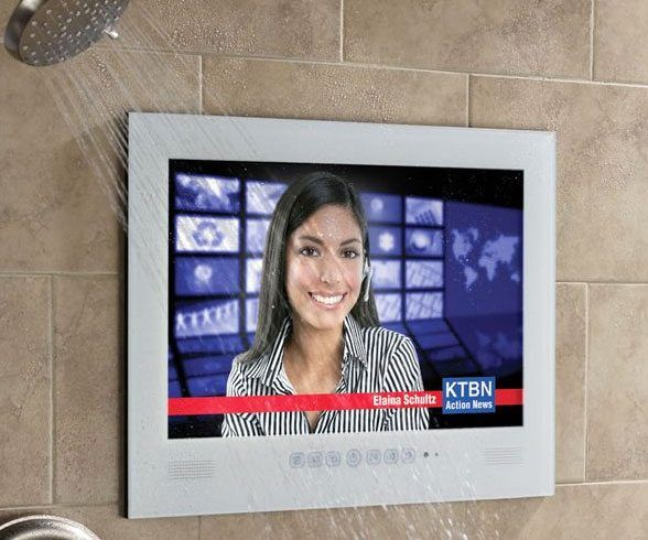 Waterproof Television - https://tiwib.co/waterproof-television/ #Bathroom, #GiftsForMen #gifts #giftideas #2017giftideas #xmas