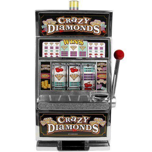 RecZone Crazy Diamonds Slot Machine Bank with 100 Tokens Toy/Game/Play Child/Kid/Children Play&Game http://www.amazon.co.uk/dp/B00JNR7YEG/ref=cm_sw_r_pi_dp_jR2Jtb05CVZAHNDV