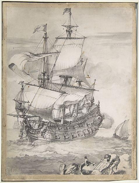 ship drawing paper - photo #7