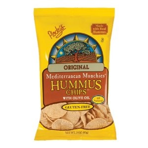 Plocky's Hummus Chips, Original, 3-Ounce Bags (Pack of 12) (Grocery)