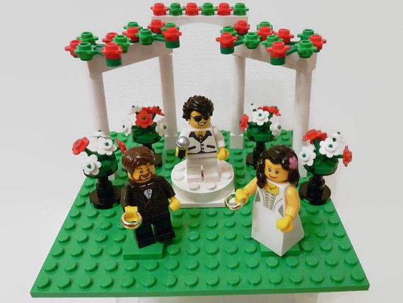 Elvis Cake Topper Cake Topper Wedding Birthday Anniversary Cake Topper Las Vegas Elvis Presley Wedding Chapel Genuine Lego Parts Customised