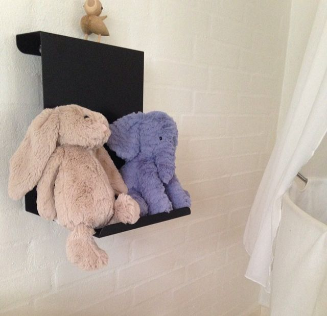 Ledge:able shelf from Anne Linde in the baby's room