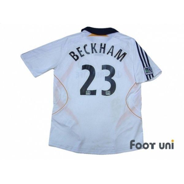 Photo2: LA Galaxy 2007-2008 Home Shirt #23 Beckham MLS Patch / Badge