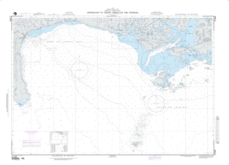Approaches To Puerto Armuelles And Pedregal (NGA-21584-2) by National Geospatial-Intelligence Agency