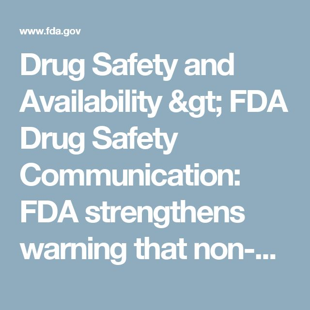 Drug Safety and Availability > FDA Drug Safety Communication: FDA strengthens warning that non-aspirin nonsteroidal anti-inflammatory drugs (NSAIDs) can cause heart attacks or strokes