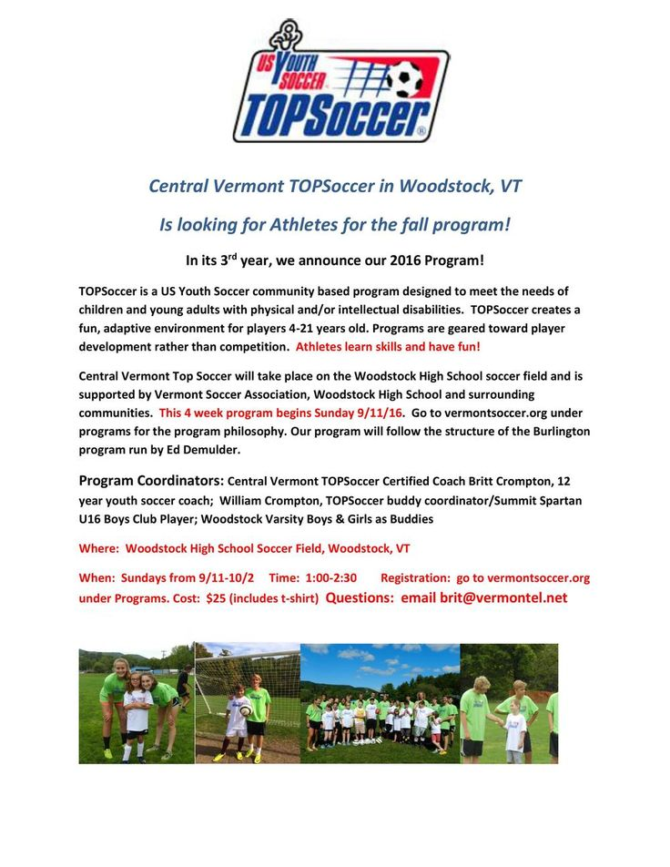 Learn skills and have fun with TOPSoccer!