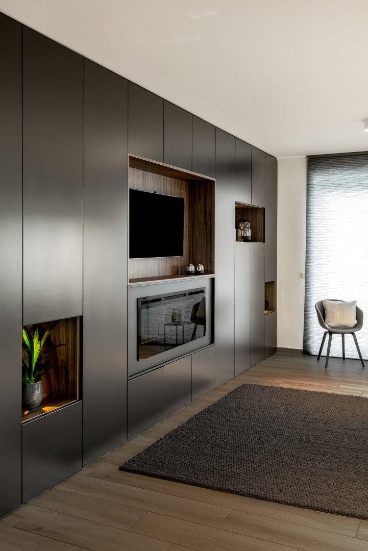 Fonkelnieuw Tv-meubelen op maat (met afbeeldingen) | Kast woonkamer modern WQ-66