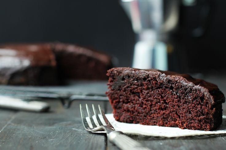 BAKE - SZYBKIE Kryzysowy murzynek - czekoladowe ciasto bez nabiału...