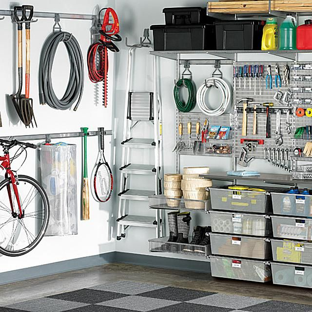Flexible Garage Wall Storage: 1000+ Ideas About Garage Shelving Units On Pinterest