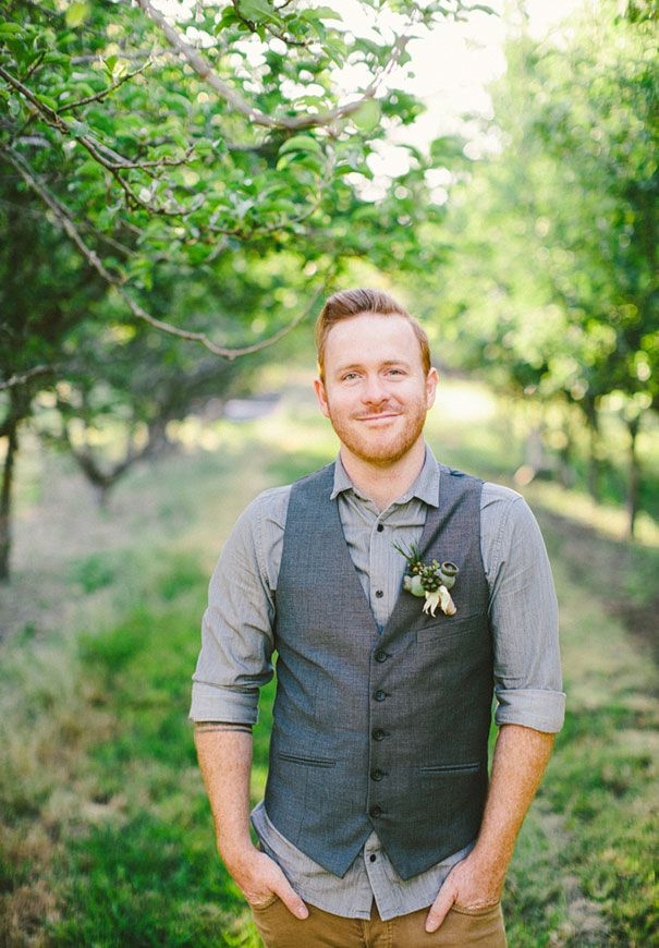 groom attire, carheart jeans with white or cream dress shirt and the vest