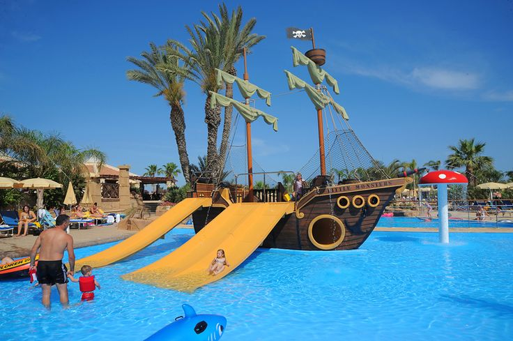 Kids pool at the Olympic Resort in Ayia Napa, Cyprus