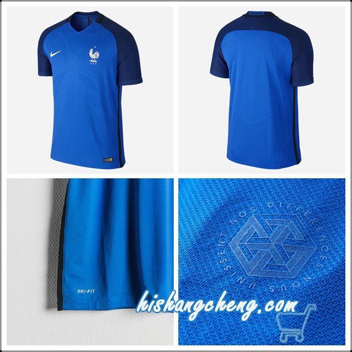 avis france maillot foot euro 2016 domicile bleu officiel