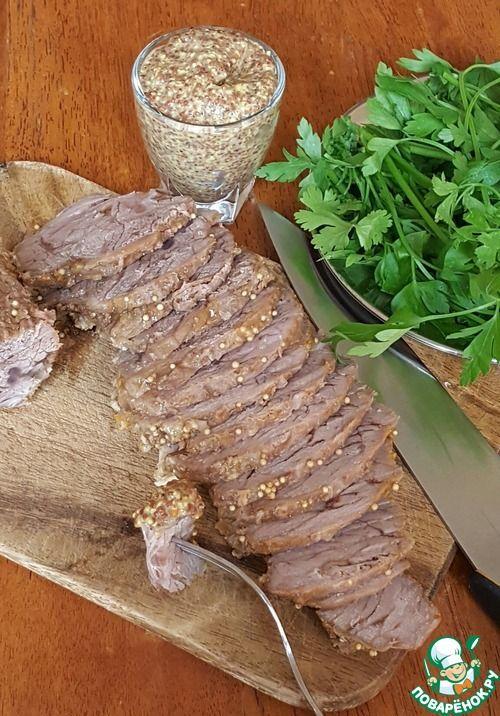 Говядина в духовке - кулинарный рецепт