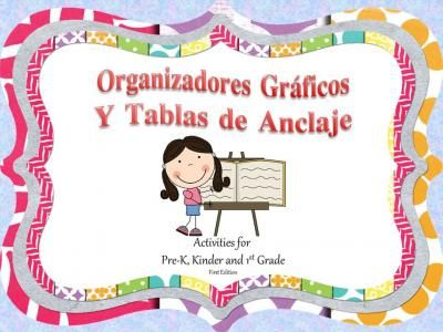 Organizadores+Graficos+y+Tablas+de+Anclaje+from+A+La+Escuelita+on+TeachersNotebook.com+-++(105+pages)++-+Organizadores+Gráficos+y+Tablas+de+Anclaje+includes+16+anchor+charts+and+over+50+graphic+organizers+in+spanish.+