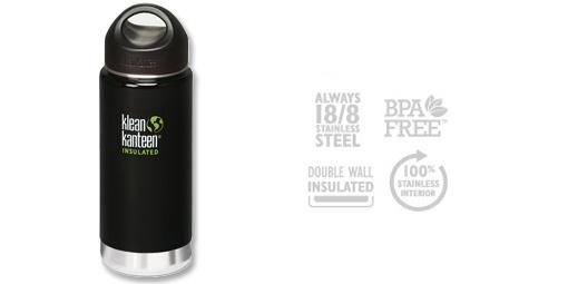 Klean Kanteen Wide Insulated Bottle, 473ml