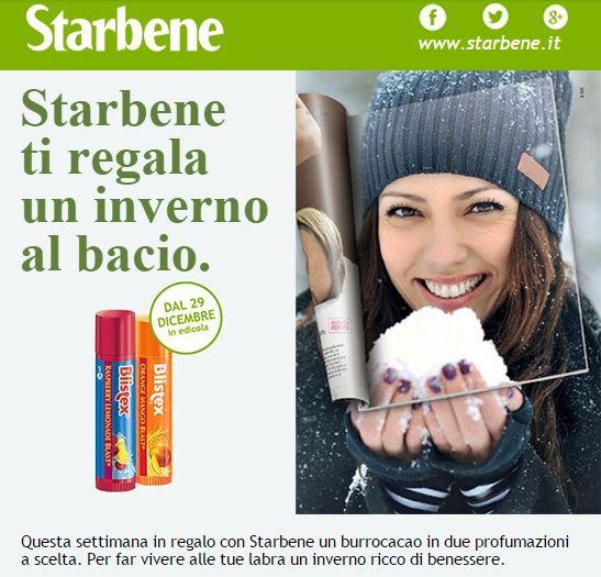 #Burrocacao #Blistex in #omaggio con #Starbene