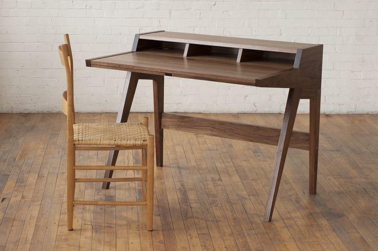 """Laura Desk, Dimensions: 34"""" tall x 42"""" wide x 30"""" deep"""