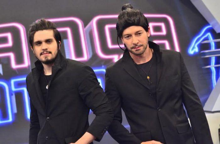 Luan Santana participa do programa do Rodrigo Faro