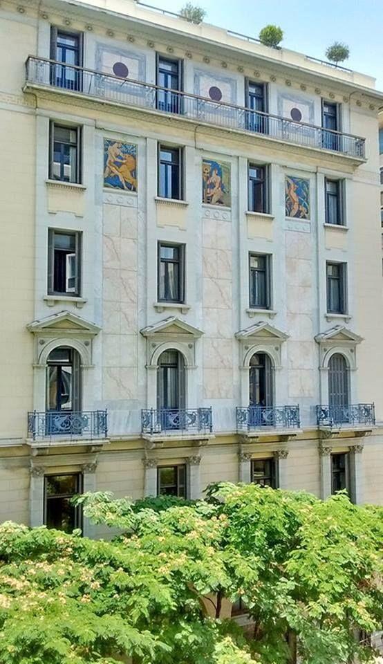 Κτίριο Μετοχικού Ταμείου Πολιτικών Υπαλλήλων, 56 Athinas Str.,Athens, 1920