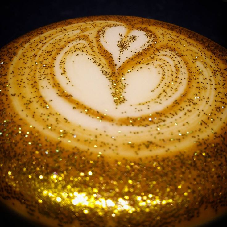 Glitter cappuccinos are here in case your coffee needed some more sparkle | Metro News