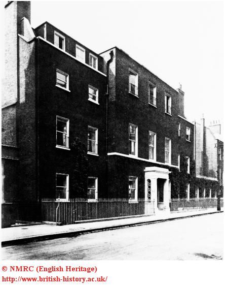 Hampden House | Green St., London, England. The 9th Duke of Marlborough and his wife, the former Consuelo Vanderbilt were renting Hampden House from the Duke of Abercorn in 1897 when their second son Ivor Charles Spencer-Churchill was born.