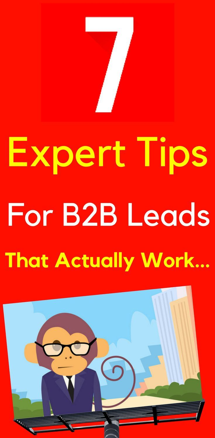7 Expert Tips To Generate B2B Leads That Actually Work  Google AdWords is just a superb way to generate quality leads for Business to #Business - as long as you set it up correctly to begin with... Learn more... 7 #Expert #Tips To Generate #B2B #Leads That Actually Work