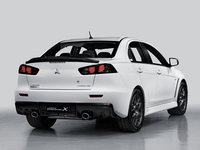 Mitsubishi Lancer Evolution X Carbon Series (2012).