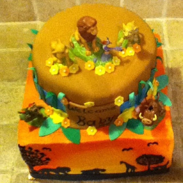 100 Baby Lion King Shower Cake Chase The Paw
